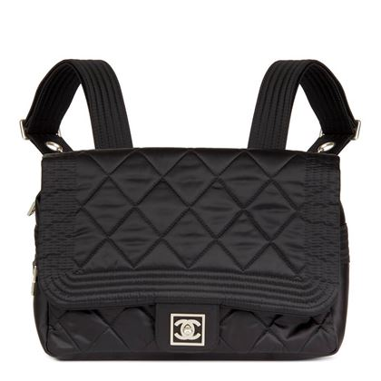 black-quilted-nylon-sports-line-backpack