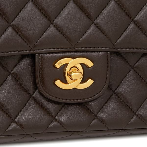 chocolate-brown-quilted-lambskin-vintage-medium-classic-kelly-flap-bag