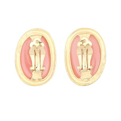 givenchy-earrings-with-plastic-peach-setting
