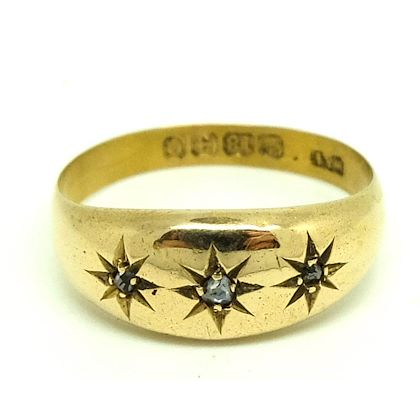 antique-victorian-1863-star-set-diamond-18ct-yellow-gold-ring