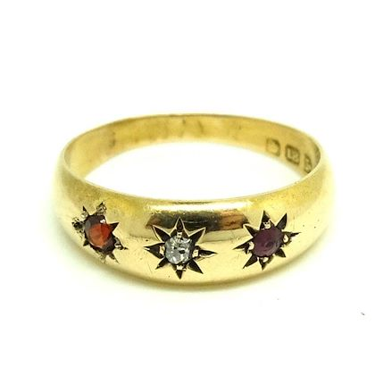 antique-edwardian-1903-diamond-ruby-18ct-yellow-gold-ring