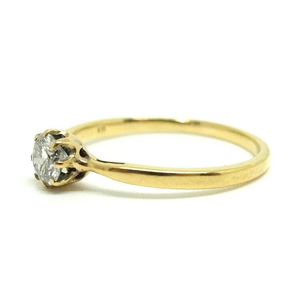 vintage-1940s-solitaire-03ct-diamond-18ct-gold-ring