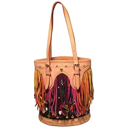 louis-vuitton-limited-edition-black-monogram-multicolor-fringe-bucket-bag-with