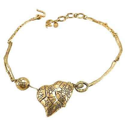 lacroix-gold-plated-broken-heart-necklace-1990s