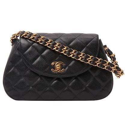 chanel-caviar-skin-cc-mark-turn-lock-plate-handbag-black
