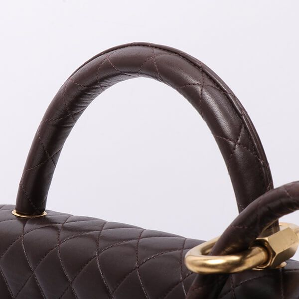 chanel-classic-flap-handbag-with-micro-bag-dark-brown