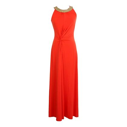 michael-kors-long-cocktail-dress-sequins-red-coral