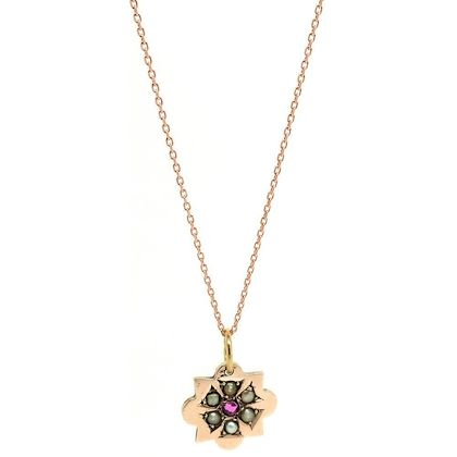 antique-victorian-ruby-seed-pearl-9ct-rose-gold-necklace