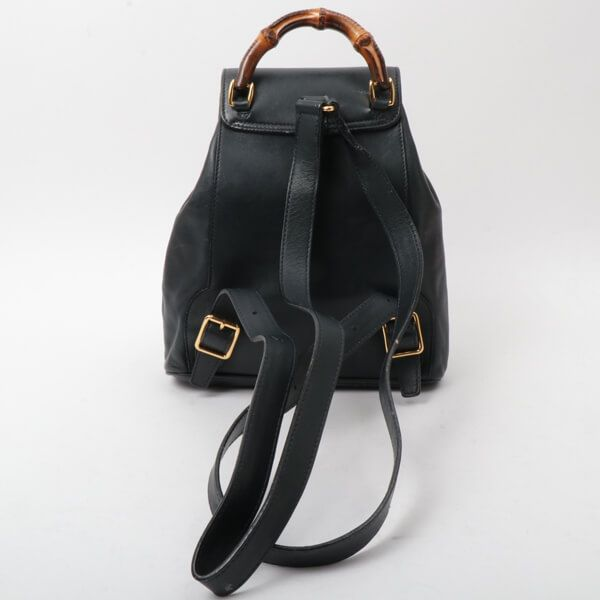 gucci-leather-bamboo-mini-backpack-navy-2