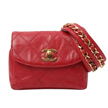 chanel-bicolore-stitch-turn-lock-waist-bag-red