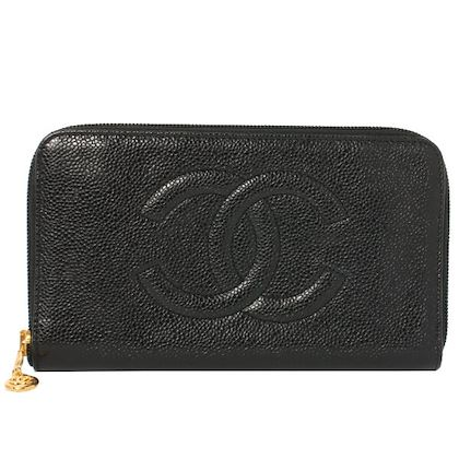 chanel-caviar-skin-cc-mark-stitch-long-wallet-black-3