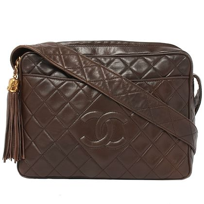 chanel-dia-cc-mark-stitch-fringe-shoulder-bag-brown