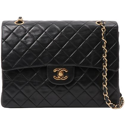 chanel-classic-flap-chain-bag-black-2