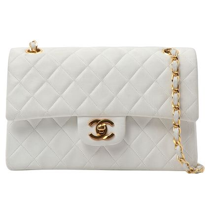 chanel-classic-flap-chain-bag-23cm-white-3