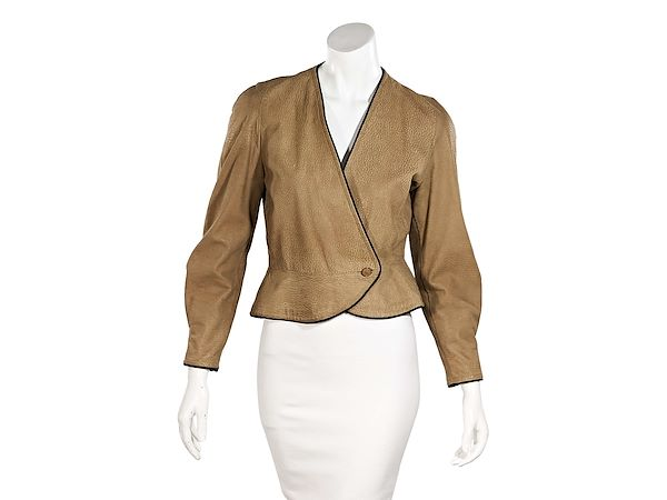 tan-vintage-christian-dior-nubuck-leather-jacket