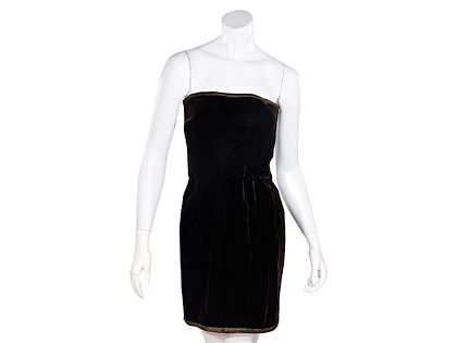 brown-vintage-oscar-de-la-renta-velvet-dress