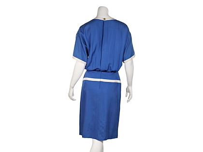 blue-white-vintage-chanel-boutique-blouson-dress