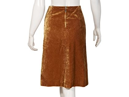crushed-gold-louis-vuitton-velvet-skirt