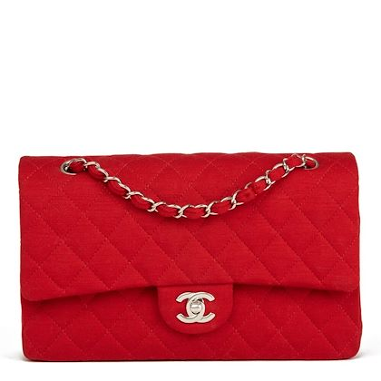 red-quilted-jersey-fabric-medium-classic-double-flap-bag
