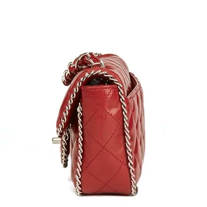 burgundy-quilted-lambskin-chain-around-east-west-classic-single-flap-bag
