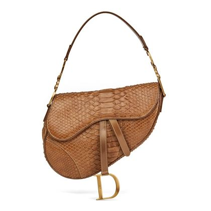 brown-python-patent-leather-saddle-bag