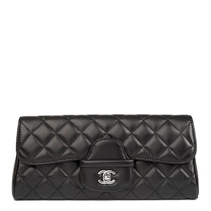 black-quilted-lambskin-classic-clutch