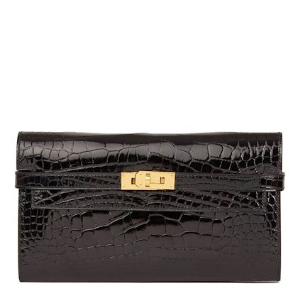black-shiny-mississippiensis-alligator-leather-kelly-long-wallet