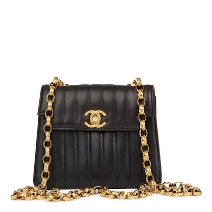 78da0e99d650e ... black-vertical-quilted-lambskin-vintage-mini-flap-bag · Chanel