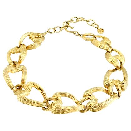 givenchy-1980s-vintage-statement-chunky-gold-tone-necklace