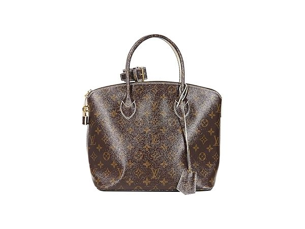 82e6a59f17b Brown Louis Vuitton Monogram Shine Fetish Lockit Bag