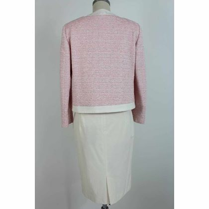 krizia-poi-skirt-suit-boucle-cotton-vintage-pink-white