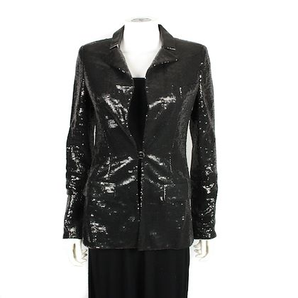 chanel-sequin-black-blazer-cc-fr-36-us-4-pre-owned-used