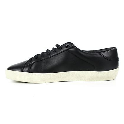 saint-laurent-sneakers-black-low-top-moon-plus-graffiti-logo-ysl-42-us-9-new