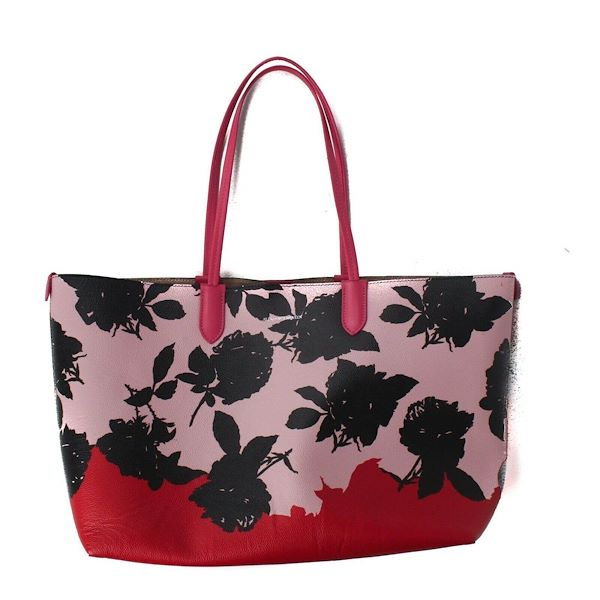 alexander-mcqueen-large-floral-pink-leather-tote-shopper-bag-red-black-new