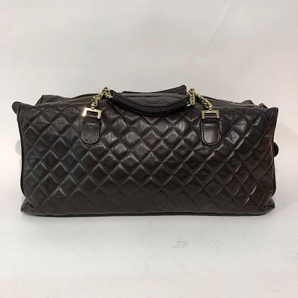 chanel-shopper-brown-in-good-condition