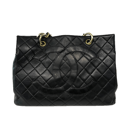 chanel-shopper-black-in-good-condition-2