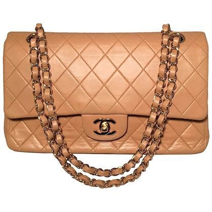 chanel-vintage-tan-10-inch-255-double-flap-classic-shoulder-bag