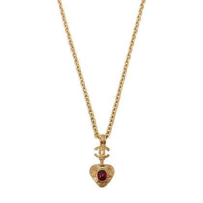 chanel-triangle-gripoix-cc-mark-necklace-red