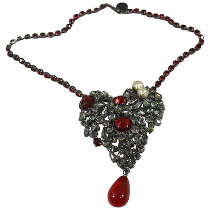 vintage-yves-saint-laurent-couture-red-heart-necklace