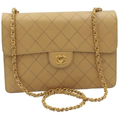 vintage-chanel-timeless-simple-flap-bag-in-grained-leather