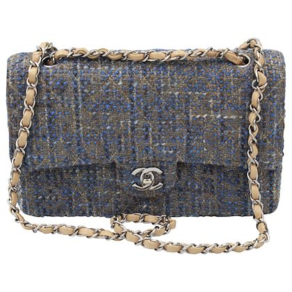 chanel-timeless-tweed-double-flap-25-cm