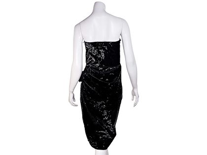 metallic-black-lanvin-velvet-strapless-dress