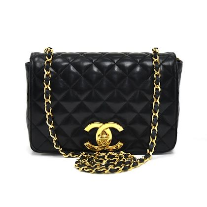486308780b85 ... vintage-chanel-85-black-quilted-lambskin-leather-large-