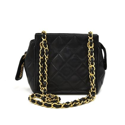 vintage-chanel-mini-black-quilted-lambskin-leather-chain-shoulder-bag