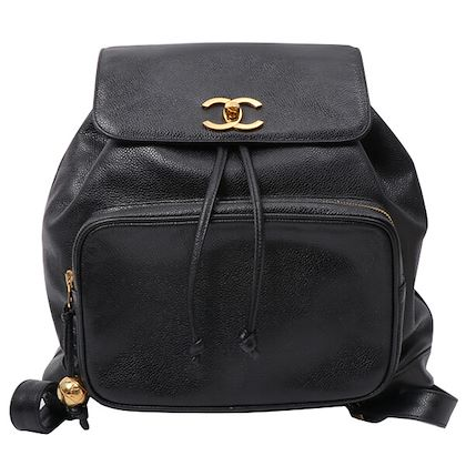 chanel-caviar-skin-turn-lock-backpack-with-pouch-black-3