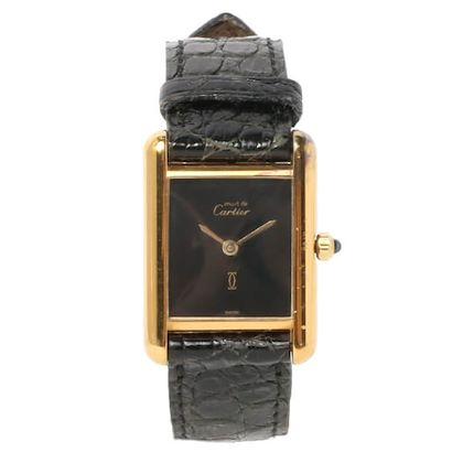cartier-925-mast-tank-vermeille-black