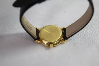 Vintage 18 Karat Gold Jaeger Le Coultre Ladies Watch