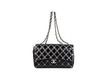 black-chanel-patent-leather-mesh-flap-bag