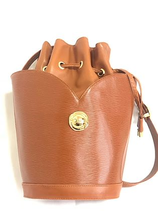80s-vintage-chloe-brown-leather-hobo-bucket-shoulder-bag