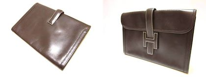 90s-vintage-hermes-jige-document-case-dark-brown-portfolio-purse-classic-and-sophisticated-style-for-unisex